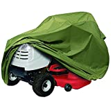 Classic Accessories Lawn Tractor Cover, Olive, Up to 54' Decks