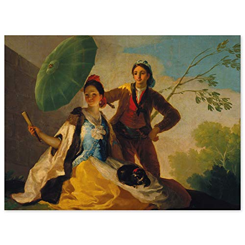 JUNIWORDS Poster, Francisco José de Goya, Der Sonnenschirm, El Quitasol, 54 x 40 cm