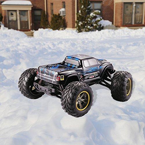 RC Monstertruck kaufen Monstertruck Bild 1: GPTOYS RC Auto 1/12 33MPH Ferngesteuertes Fahrzeug Geländewagen Elektro Sport Rennwagen 2WD 2,4 GHz Hochgeschwindigkeit RC Truck*
