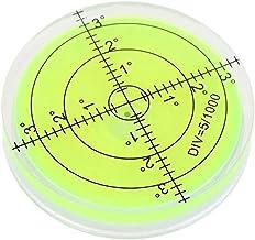 مستوى فقاعات كاردان - 60 مم دائرية عالية الدقة مستوى فقاعة أفقي درجة سطح علامة لموازنة الكاميرا ثلاثي الأجهزة الدوار قياس ...