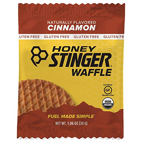 Honey Stinger Organic Gluten Free Waffle, Cinnamon, Sports Nutrition, 1.06 Ounce (16 Count)
