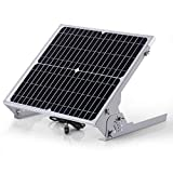 SUNER POWER 12V Waterproof Solar Battery Trickle Charger & Maintainer - 20 Watts Solar Panel...