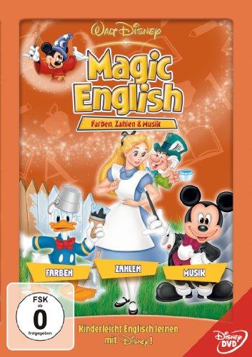 Magic English - Farben, Zahlen und Musik [Alemania] [DVD]