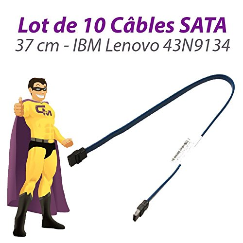 Lenovo Set 10 Kabel SATA IBM FRU 43 N9134 ThinkCentre M58 USFF 37 cm Blau