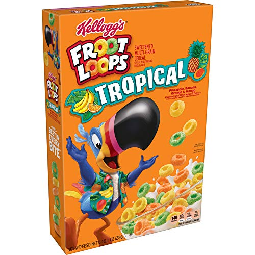 Froot Loops Tropical Cereal, 10.10 Ounce