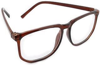 nerd glasses brown