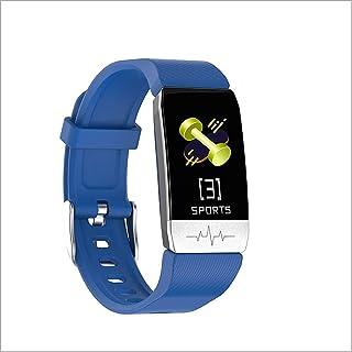Pulsera Inteligente Termómetro Táctil para Adultos Reloj Deportivo para Medir El Oxígeno ECG/Sangre/Control Las Pulsaciones con Health Monitoring + Tracking Posicionamiento