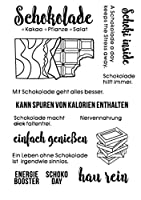 DIYスクラップブッキングフォトアルバム用のドイツ語透明クリアシリコンスタンプシール装飾クリアスタンプM1186