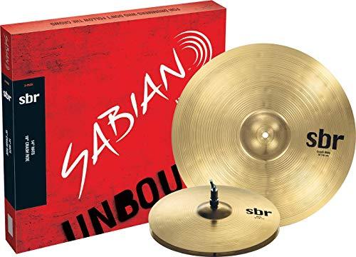 Sabian Cymbals SBR5002 SBR 2-Pack 14' Hi hats, 18' Crash/Ride