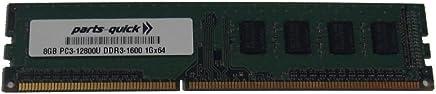 8GB DDR3 Memory for Gigabyte - GA-990XA-UD3 Motherboard PC3-12800 1600MHz NON-ECC Desktop DIMM RAM Upgrade (PARTS-QUICK BRAND)
