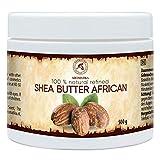 Manteca de Karite Pura 500g - Refinada - African - Ghana - Manteca Karité 100% Natural Mejor para...
