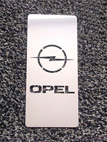tuning pedana poggiapiede acciaio inox 18 x 8 cm con kit velcro incluso opl