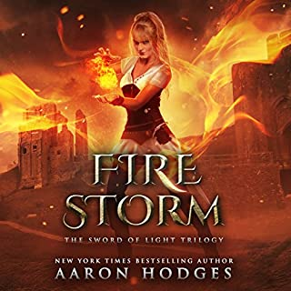Firestorm     The Sword of Light Trilogy, Book 2              Written by:                                                                                                                                 Aaron Hodges                               Narrated by:                                                                                                                                 David Stifel                      Length: 9 hrs and 58 mins     Not rated yet     Overall 0.0