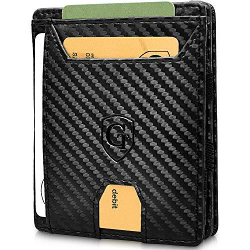 GenTo® FLAPLET I – Geldbörse ohne Münzfach - TÜV geprüft - Magic Wallet - Magischer Geldbeutel mit großem Münzfach - Inklusive Geschenkbox - Smart Wallet - Portemonnaie für Herren und Damen