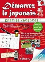Démarrez le japonais spécial vacances - Cahier de vacances d'Etienne Rozenn