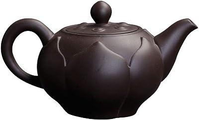 MYXMY Zishaポットティーポットシングルポットホーム鉱石旧紫泥カンフーティーポットハンドポットポット紫砂ポット手作りの陶芸お茶セット