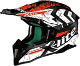 X-Lite X-502 Nac Nac Casco di motocross Bianco/Rosso/Nero