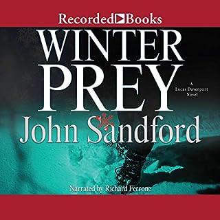 Winter Prey audiobook cover art