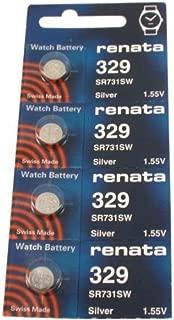 #329 Renata Watch Batteries 4Pcs