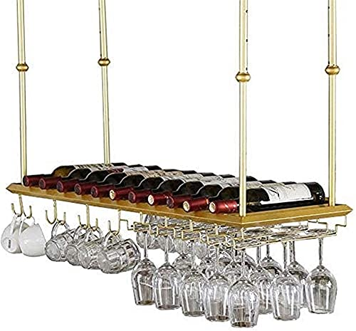 Home Equipment Wine Rack Wine Lovers/Wine Racks Adjustable Height Iron Wine Bottle Holder Ceiling Mounted ng Wine Glass Rack Stemware Racks Vintage Decoration/ng Wine Holder/Floating Wine Shelf G 6