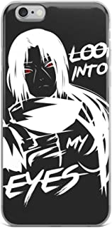 iPhone 7 Plus/8 Plus Case Anti-Scratch Japanese Comic Transparent Cases Cover Itachi Uchiha Sharingan Anime & Manga Graphic Novels Crystal Clear