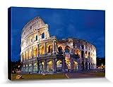 1art1 Rom - Kolosseum In Der Abenddämmerung Bilder