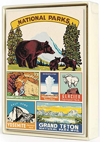National Parks Assorted Boxed Notecards