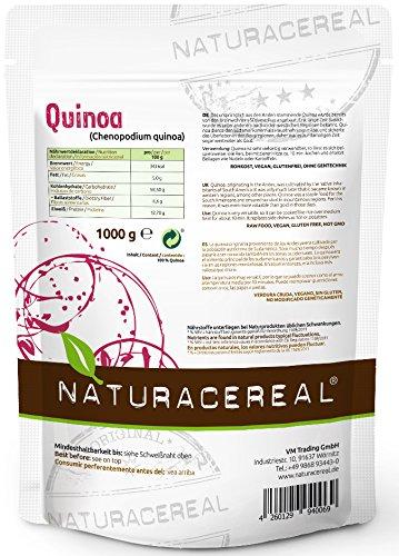 Quinoa blanca Premium - 1kg - NATURACEREAL | Mayor contenido de minerales...