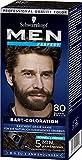 SCHWARZKOPF MEN PERFECT Bart-Coloration 80 Dunkelbraun, 3er Pack (3 x 30ml)