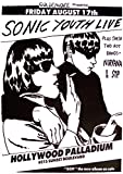 Sonic Youth nirvana Poster Hollywood