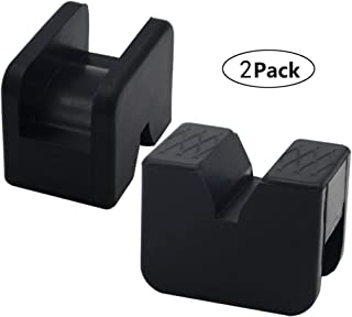 Best slotted rubber jack pad Reviews