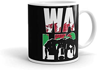 Wales Rugby 2019 Fans Kit for Welsh Supporters, Players, Coaches and Rugger Mug
