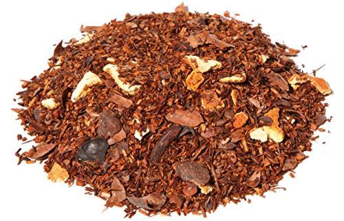 Rooibos sinaasappel chocolade thee, rooibos thee, 100 gram losse thee