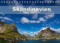 Skandinavien - Der mystische Norden (Tischkalender 2022 DIN A5 quer): Fotografien aus dem Norden Europas. (Monatskalender, 14 Seiten )