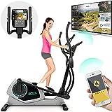 Bicicleta Elíptica Fitness CURV 3.0 | Gimnasio en casa | Máquina de paso de ejercicio | Air Walker | Zancada larga | Kinomap | Transmisión de video en vivo | Entrenamiento y entrenamiento por video |