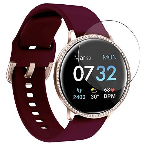 Vaxson 3 Unidades Protector de Pantalla, compatible con iTouch Sport SE Smart watch [No Vidrio Templado] TPU Película Protectora Reloj Inteligente Film Guard Nueva Versión