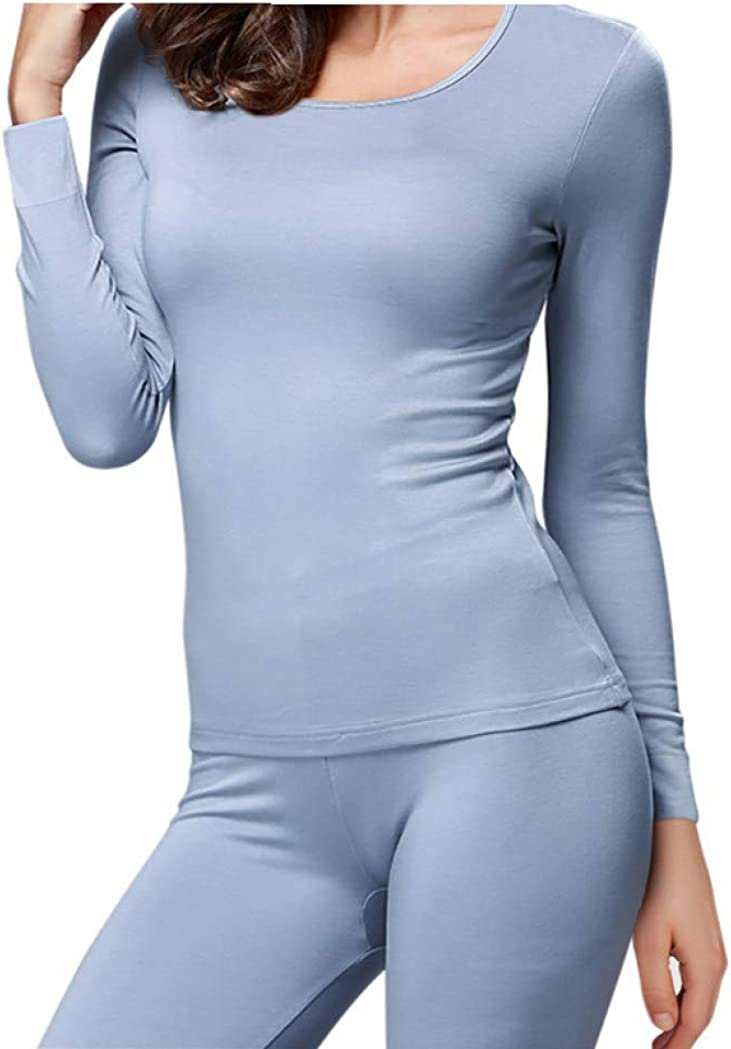 Winter Thermal Underwear Womens Long Johns Set Warm Pajama Homewear Women Undershirt Underwears Sets