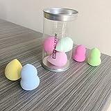 Makeup Sponge mini Set Blender Beauty Foundation Blending Sponge - Multi-colored 8 Pieces