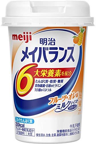 メイバランス Miniカップ フルーツ・オレ味 125ml×12本