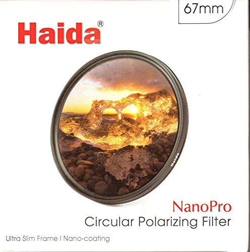 Haida Ultra Slim - Polarisationsfilter der neuesten Generation Nano Pro MC CPL - 67mm