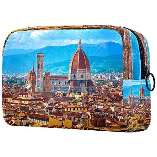 Rome View Trousse à maquillage pour les voyages et les accessoires de toilette pour les filles et les femmes