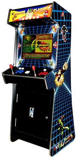 US-Way e.K. G-88 Arcade Video Maschine TV Spielautomat Standgerät Cabinet Automat 3500 Spiele Jamma Games Machine
