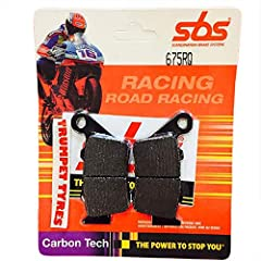 Rear Brake Carbon Compound With High Brake Performance Excellent Feel And Control To Use Rear Brake Steering Into Turns And Handle The Bike Out Of Turns