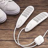 Chnzyr Desodorante para Secado USB Alimentado Calefacción Segura PTC Esterilizador De Zapatos Tercera Sincronización De Marcha Calefacción Envolvente para Esterilización Y Desodorización,Blanco