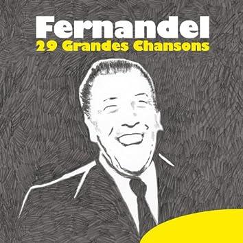 Fernandel: 29 grandes chansons