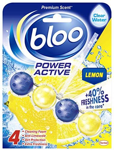 Bloo Power Active Toilet Rim Block, Lemon, 50 g