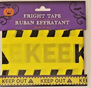 Halloween Fright Tape 30 ft Keep Out!