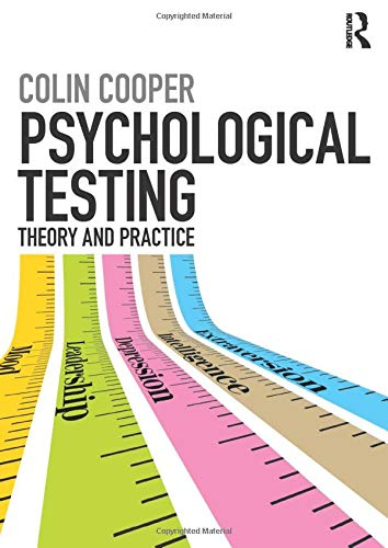 Psychological Testing: Theory and Practice