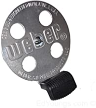 Weber Bar-B-Kettle, Charcoal Performer, Touch-N-Go Replacement Gas Grill Damper Kit 63070