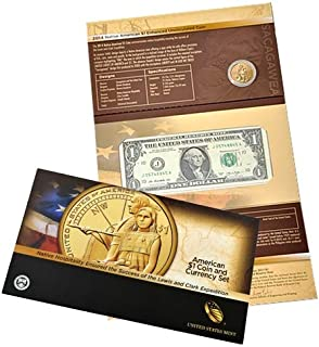 american coin and currency set